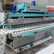 Pulidora de cantos Marmo Meccanica LTT6221 bordes planos y redondos