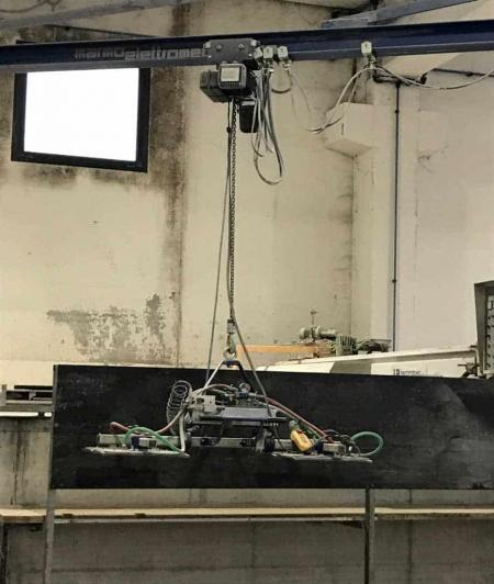 Jib crane Marmoelettromeccanica 1000 Kg