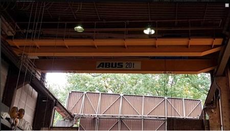 Overhead crane Abus 20 Tons - 10,9 m