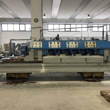 Polishing machine marble tiles Salvatori LCA 600 1+6