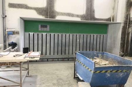 Cabina de aspiración ItalMecc Air Dry 430