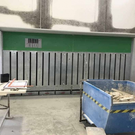 Suction booth ItalMecc Air Dry 430