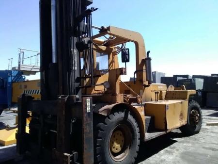 Carrello elevatore Lidhult 30D – 30 Tons