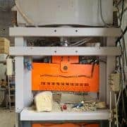 Vertical splitting machine Technosplit TS 100140X40 220P - 200 Ton