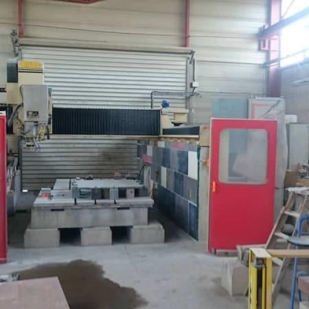 CNC Omag Mill 98 - 4 Assi