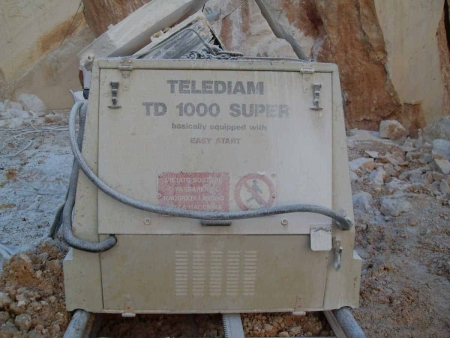 Diamond Wire Saws for quarry - Telediam TD 1000 S (2000)