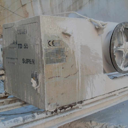 Diamond Wire Saws for quarry - Telediam TD 55 S (2002)