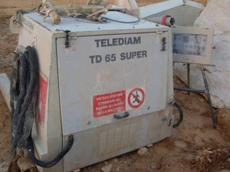 Diamond Wire Saws for quarry - Telediam TD 65 S (2004)