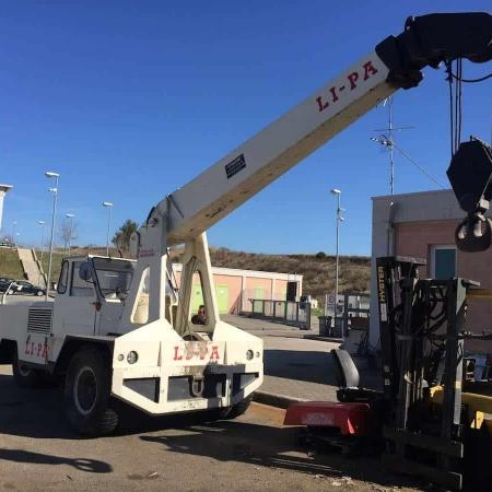 Mobile crane Lipa TG15T - 15 Tons