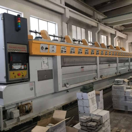 Polishing line granite slabs Barsanti Good Star 22