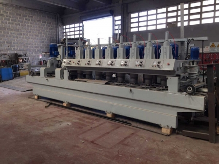Polishing machine for marble tiles Simec 2+8