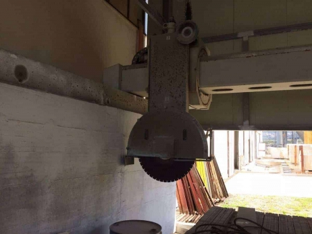 Bridge Saw CNC Terzago Forma - 4 Axes - Blade 1000