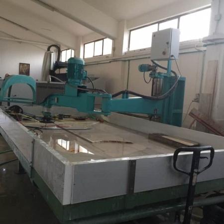Brazo pulidora columna Marmo Meccanica HPB.2