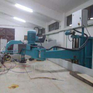 Radial arm polisher column Marmo Meccanica HPB.2