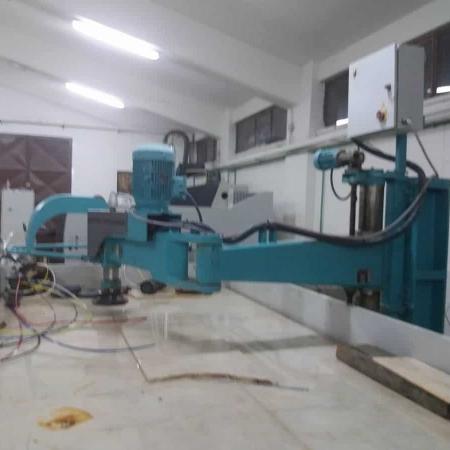 Radial arm polisher column MarmoMeccanica HPB.2