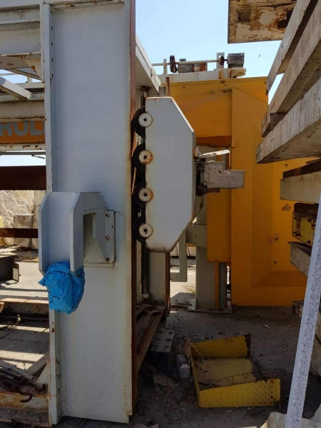 Telaio da marmo aperto Fraccaroli & Balzan FB40 - 40 Lame