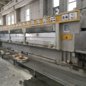 Polishing line granite slabs Barsanti Good Star 22 – 16 Heads