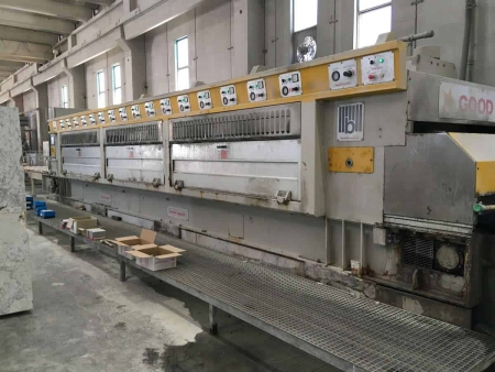 Polishing line granite slabs Barsanti Good Star 22 - 16 Heads