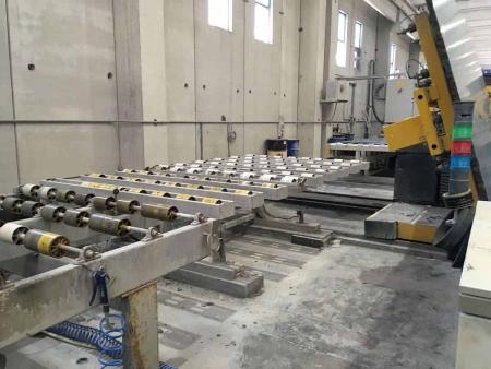 Polishing line granite slabs Barsanti Good Star 22 - 16 Heads