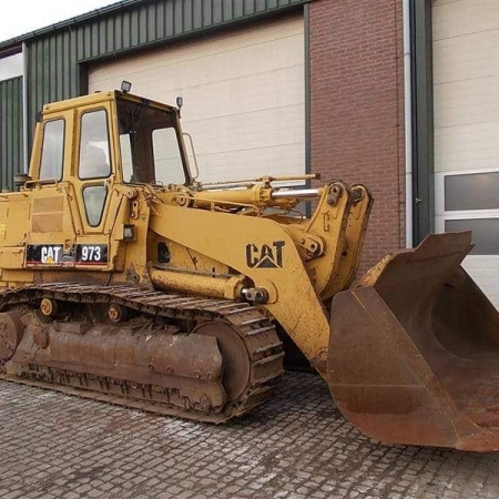 Track loader Caterpillar 973