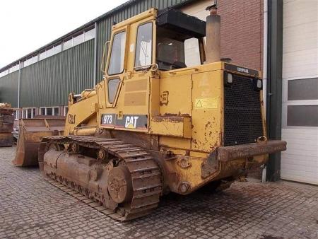 Track loader Caterpillar 973