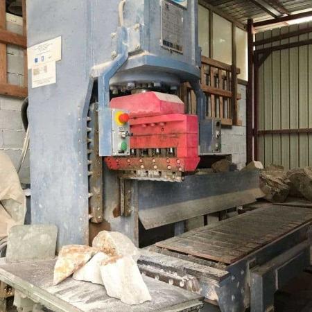 Spaccatrice-trancia verticale Mec Semi-Trittico - 130 Ton