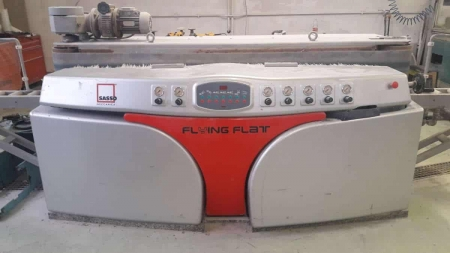 Edge polisher Sassomeccanica Flying Flat 5+2 for flat