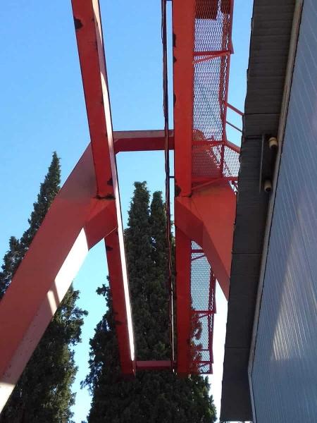 Gantry Cran Tedeschi e Porcelli 5 Tons - 8.5+5+5 m