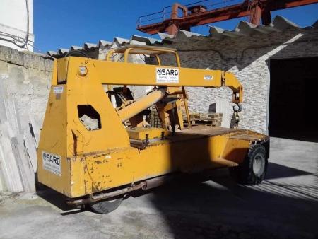 Autogru semovente Sard D35 - 3.5 Tons