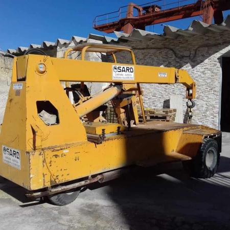 Grúa móvil Sard D35 – 3.5 Tons