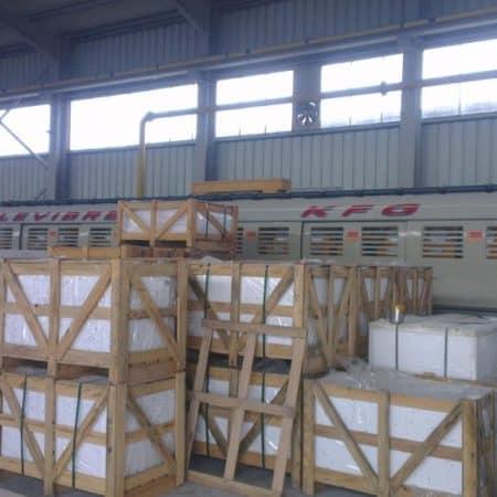 Polishing line marble slabs Breton – Levibreton KFG 2000