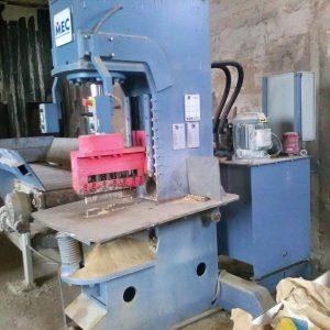 Vertical splitting machine Mec Semi-Trittico – 60 Ton