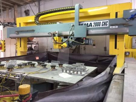 CNC Machine Marchetti Idema 2000 - 3 Axes