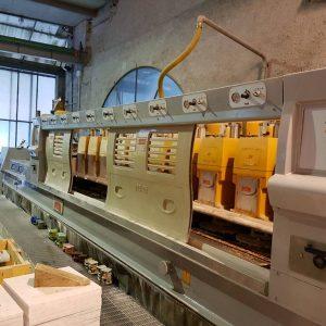 Polishing machine for marble tiles Breton KPM 2+10