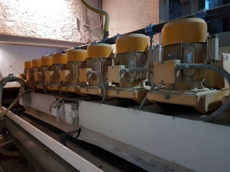 Polishing machine for marble tiles Breton KPM 2+10