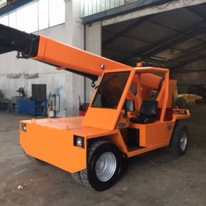 Electric mobile crane Omar S77 – 7 Tons