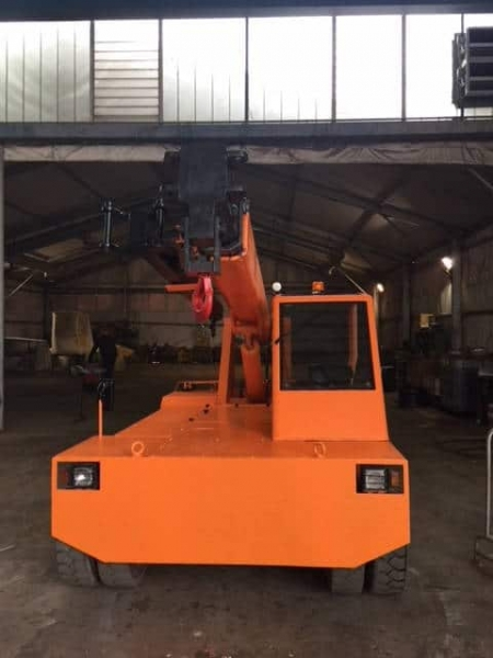 Electric mobile crane Omar S77 - 7 Tons