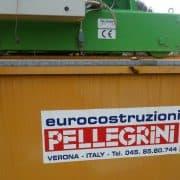 Overhead crane Pellegrini GPBA20X15.30 20 Ton - 15.30 m