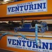 Overhead crane Venturini 10 and 20 Ton