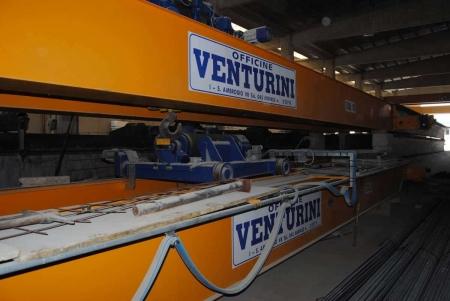 Puente grúa Venturini 10 y 20 Ton