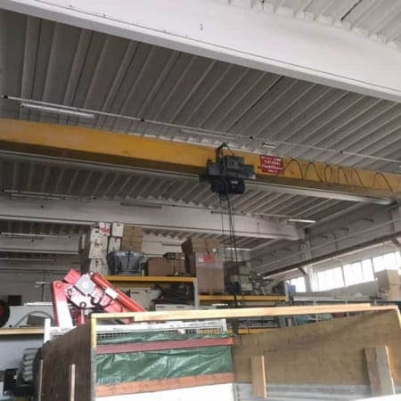Overhead crane Venturini 4 Tons – 14,80 m