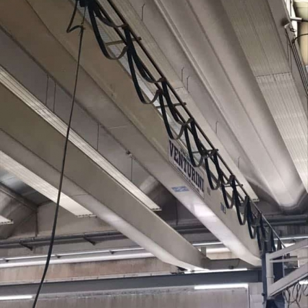 Overhead crane Venturini 5 Tons - 15,50 and 17,50 m