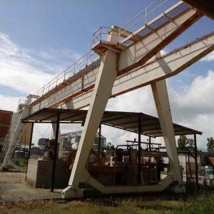 Gantry Crane Pellegrini 32 Tons – 25+6+6 m