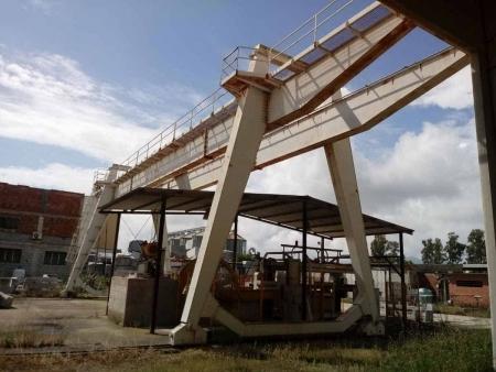 Gantry Crane Pellegrini 32 Tons - 25+6+6 m