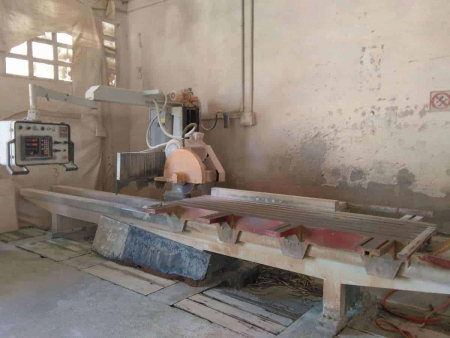 Banner tile saw Bisso A.G.P. 260 - Blade 800 mm