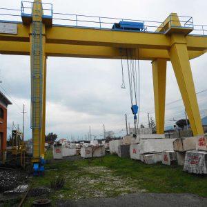 Gantry Crane O.M.C. 30+5 Tons – 11+4+4 m