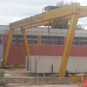 Gantry Crane SAMO – 25+8 Tons – 22 m