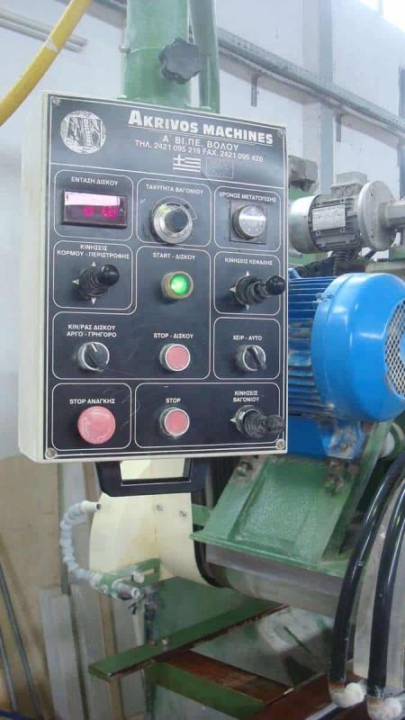 Fresa a bandiera Akrivos Machines AM45 Special - Disco 500 mm
