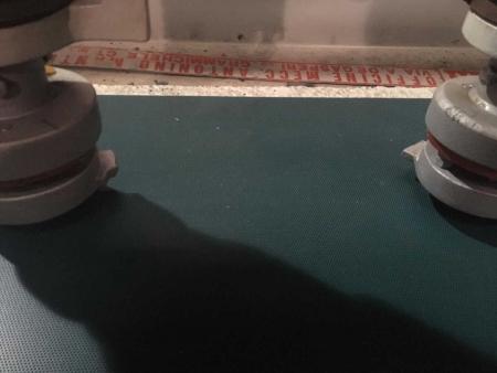 Polishing machine for marble tiles Mantello Simeto 1+8