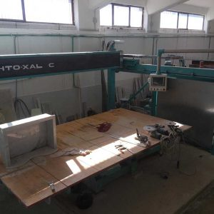 Bridge saw CNC Marmo Meccanica XALOC.R – Blade 600 mm – 5 Axes